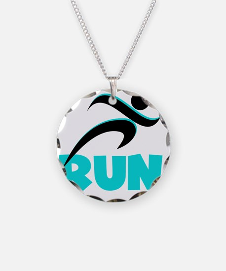 RUN Aqua Necklace