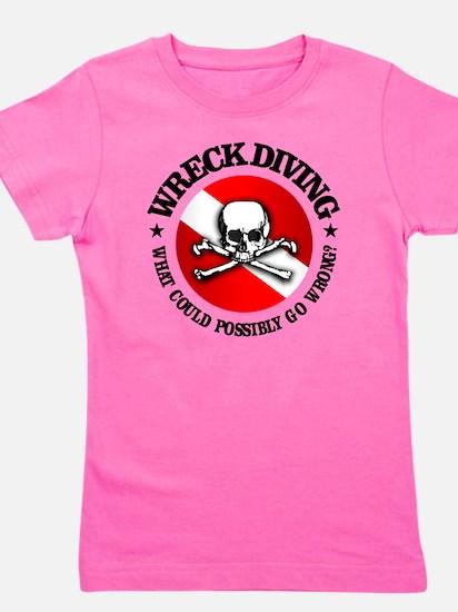 Wreck Diving (Skull) Girl's Tee