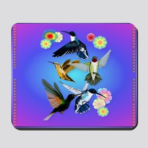 Throw Blanket For The Love Of Hummingbir Mousepad