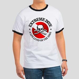 Extreme Dive (Skull) Ringer T