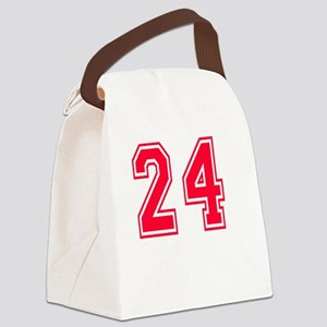 24 year aged to perfection design Canvas Lunch Bag