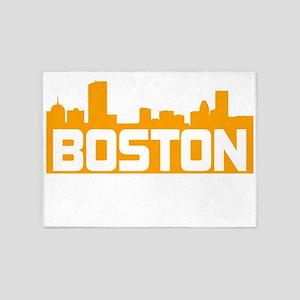 Boston Strong 5'x7'Area Rug