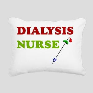 Dialysis nurse A Rectangular Canvas Pillow