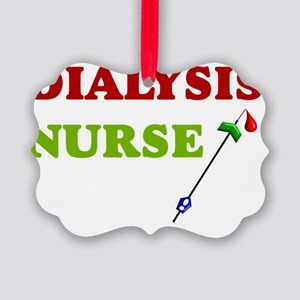 Dialysis nurse A Picture Ornament