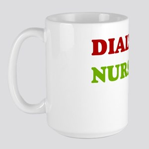 Dialysis nurse A Large Mug