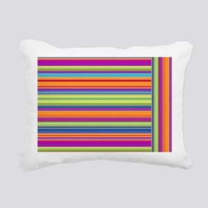 Just Stripes 3 Rectangular Canvas Pillow