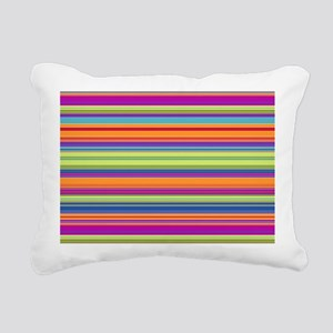 Just Stripes 2 Rectangular Canvas Pillow