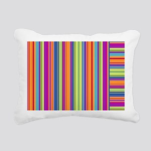Just Stripes 4 Rectangular Canvas Pillow