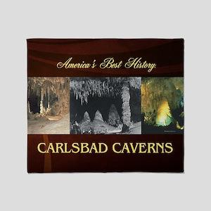 carlsbadcaverns1 Throw Blanket