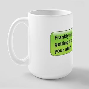 Frankly Auto-Correct Large Mug