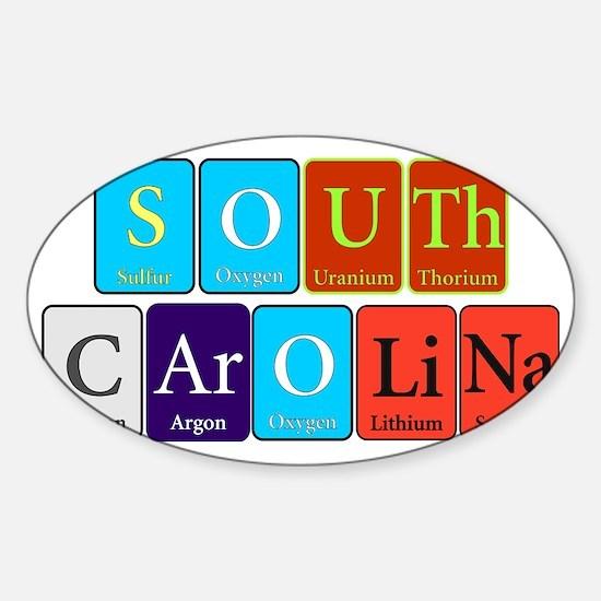 South Carolina Sticker (Oval)