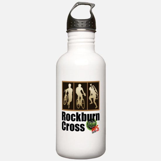 Rockburn Cross Logo C  Water Bottle
