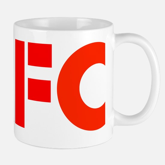 AFC Red Text b (10x10, clr bkgrd) Mug