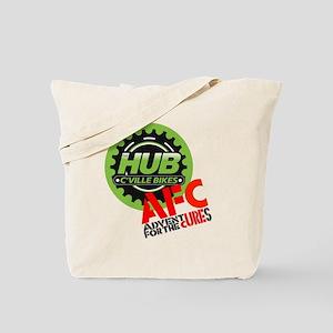 AFC/HUB LOGO c (10x10, clr bkgrd) Tote Bag