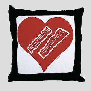 Love Bacon? Throw Pillow