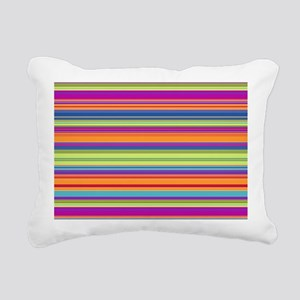 Just Stripes 2L Rectangular Canvas Pillow