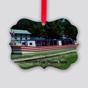 Whitewater Canal Picture Ornament