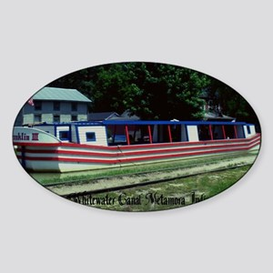 Whitewater Canal Sticker (Oval)