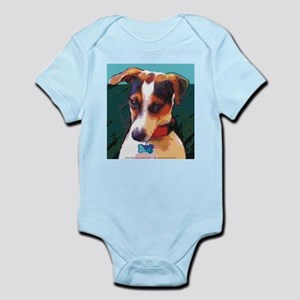 Bad Boy Jack Russell Infant Bodysuit