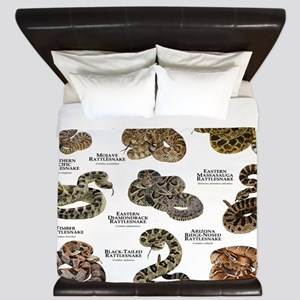 Rattlesnakes of North America King Duvet