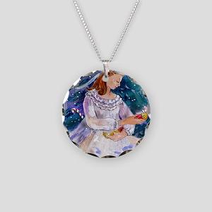 Clara_Nutcracker Necklace Circle Charm