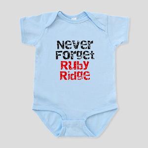 Never Forget Ruby Ridge Infant Bodysuit