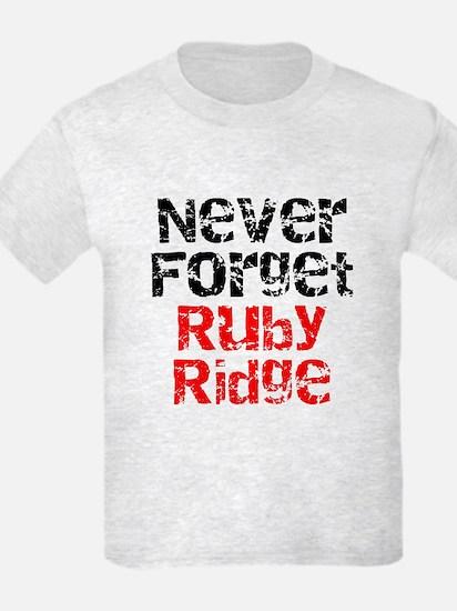 Never Forget Ruby Ridge T-Shirt