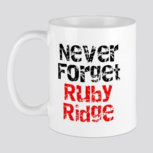 Never Forget Ruby Ridge Mug