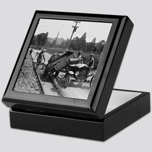 Road Crew at Work Keepsake Box