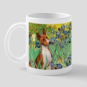 Basenji in Irises Mug