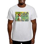 Basenji in Irises Light T-Shirt