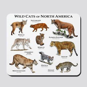 North American Wildcats Mousepad