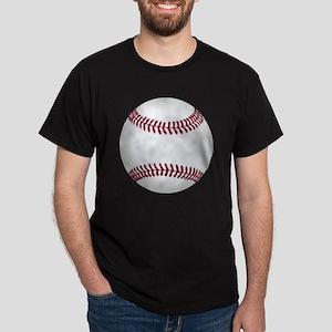 basic classic baseball graphic Dark T-Shirt
