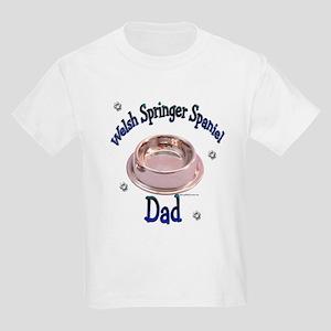 Welsh Springer Dad Kids Light T-Shirt