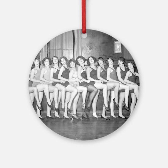 Showgirls Round Ornament