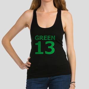 Green13 FrontBack Racerback Tank Top