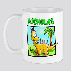 Nicholas Dinosaur Mug
