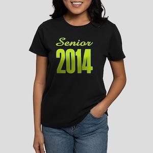 Senior 2014 (lime Women's Dark T-Shirt