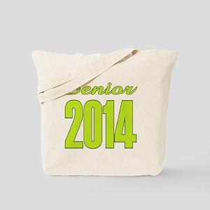 Senior 2014 (lime Tote Bag