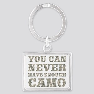 You Can Never Have Enough Camo Landscape Keychain