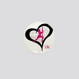 LM Dancer Heart Mini Button
