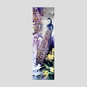 Om Garden Peacock, Doves, Wisteri 36x11 Wall Decal