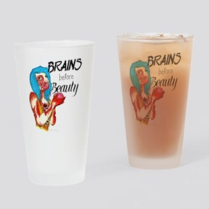 Brains Drinking Glass