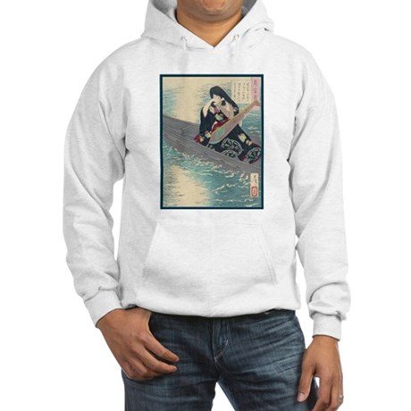 Japanese Art Hooded Sweatshirt
