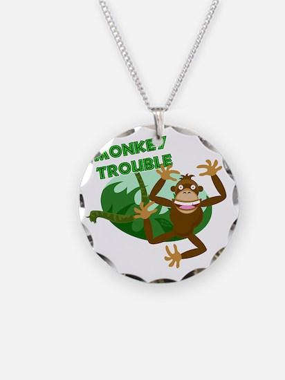 monkey trouble Necklace
