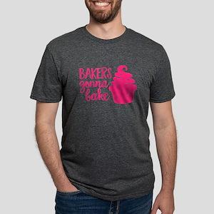 BAKERS GONNA BAKE Mens Tri-blend T-Shirt