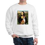 Mona Lisa - Basenji Sweatshirt