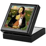 Mona Lisa - Basenji Keepsake Box