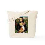 Mona Lisa - Basenji Tote Bag