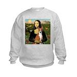 Mona Lisa - Basenji Kids Sweatshirt